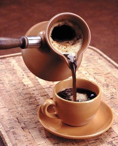 Кофе с корицей и перцем