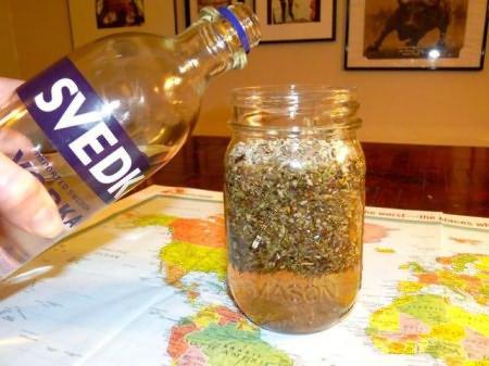 Рецепты полезных настоек на спирту