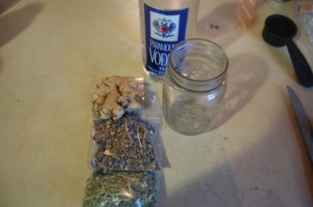 имбирная настойка рецепт приготовления на водке