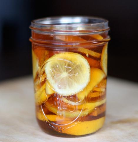 лимон с имбирем от простуды