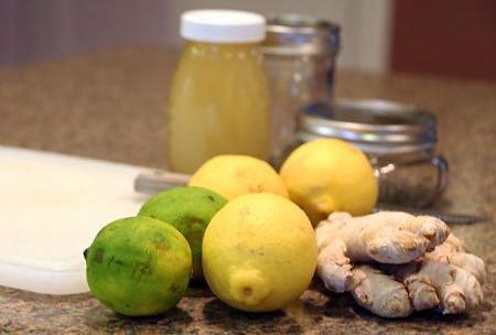 Имбирь, мед, лимон для иммунитета