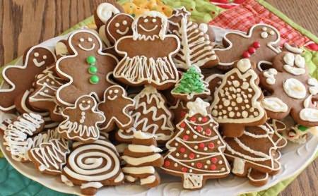 имбирное печенье с цаветной глазурью рецепт