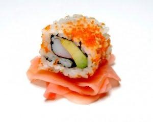 суши с маринованным имбирем